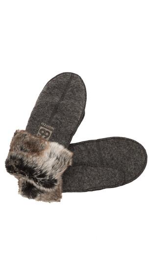 66° North Kaldi Arctic Mittens ash grey